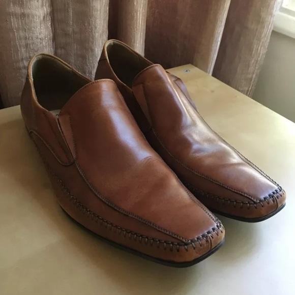 7e92acd51cf Steve Madden Brown Loafer men's 10 preowned